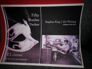 Fifty Shades Darker and King On Writing